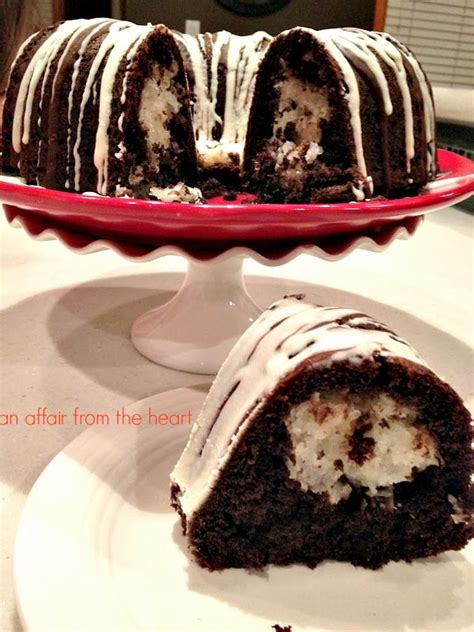 Chocolate Macaroon Bundt Cake | An Affair from the Heart