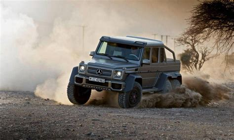 2013 Mercedes-Benz G63 AMG 6X6 Review - Top Speed