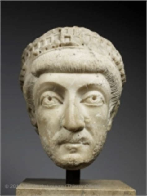 Theodosius II (Emperor from AD 408 to 450)   Louvre Museum