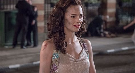 Did Kara Tointon just give away her Halcyon character
