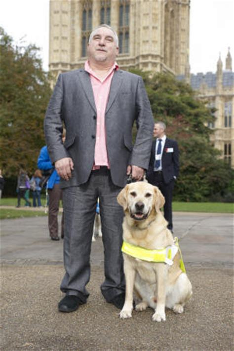 'The Day I Stop Marvelling At What My Guide Dogs Do Will