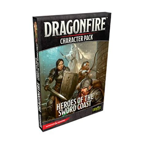 Dragonfire: Character Pack - Heroes of the Sword Coast (Exp