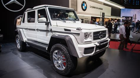 2017 Mercedes-Maybach G 650 Landaulet | Top Speed