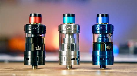 CROWN 3 by Uwell - The Best Crown So Far? GIVEAWAY - YouTube