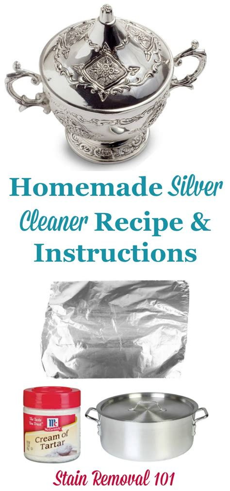 Homemade Silver Cleaner Recipe: DIY Silver Dip