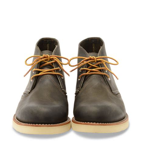 Work Chukka Style No 3150 - Charcoal Rough & Tough Leather