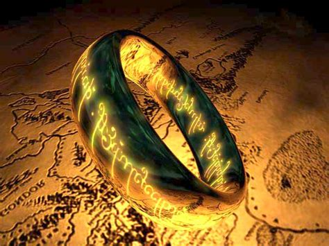 The One Ring 3D Screensaver - Download Animated 3D Screensaver