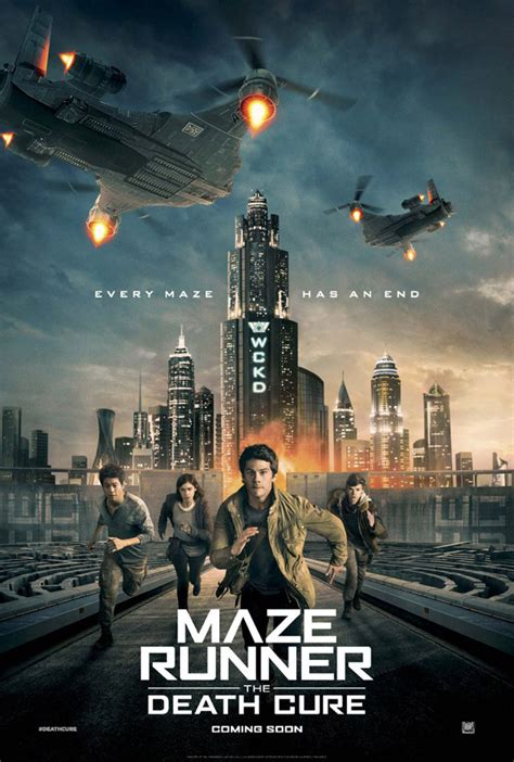 Movie posters from The Maze Runner: The Death Cure - Wes