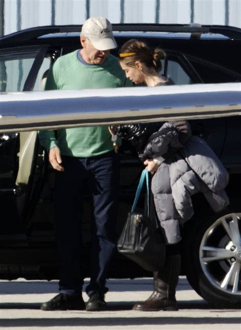 Harrison Ford And Family Head To His Ranch In Wyoming 31