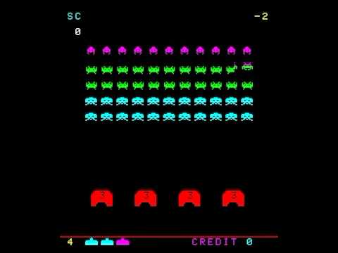 Space Invaders, Retro Games, Black Background Wallpapers