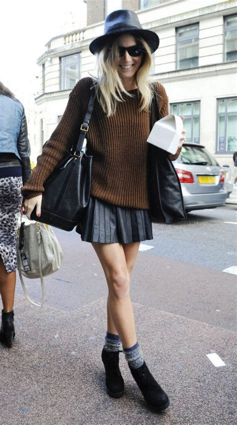 Leather Skirt Outfit Ideas   Fashion Inspo