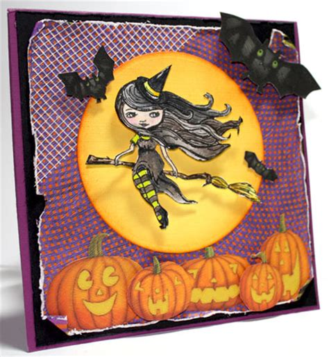 21 Interesting And Easy DIY Halloween cards