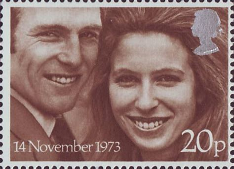 Royal Wedding (1973) : Collect GB Stamps