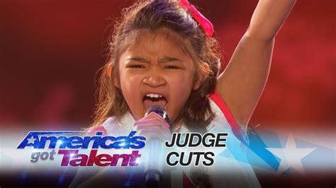 Angelica Hale: 9-Year-Old Earns Golden Buzzer From Chris