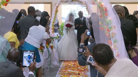 Walk Down the Aisle - A African Wedding Video Photo