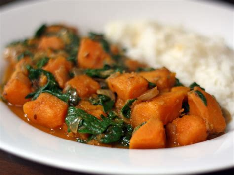 Dinner Tonight: Sweet Potato and Spinach Curry | Serious Eats