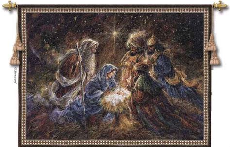 We Three Kings tapestry - Inspirational Wall Hangings