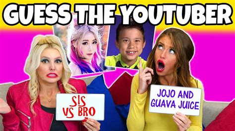 Guess the YouTuber Challenge by Their Voice