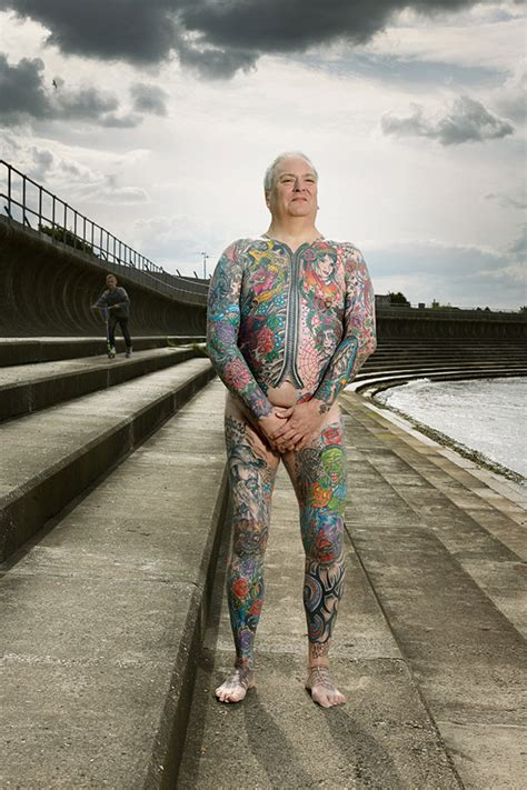 Clothed and Unclothed Tattoo Portraits by Photographer