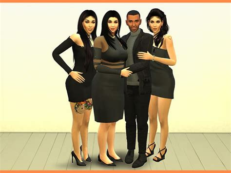 Family Photos Pose Pack - Sims 4 Mod Download Free