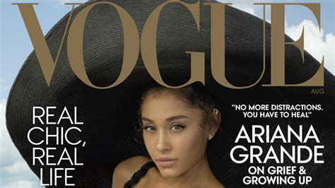 Must Read: Ariana Grande Covers the August Issue of 'Vogue