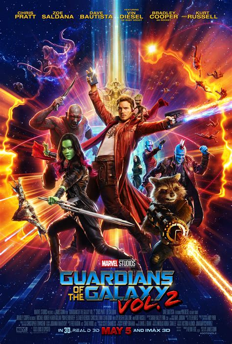 New Trailer & Poster For Guardians of the Galaxy Vol