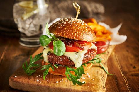 A vegan burger which 'bleeds' will soon be on the menu in